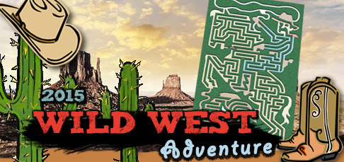 Wild West Adventure - Corn Maze 2015